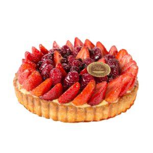 Tarta-frutos -rojos-sin-azucar-Philippe