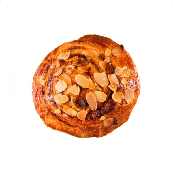 Croissant Roll Almendras prehorneado x 6 panaderia y pasteleria Philippe saludable sin azucar