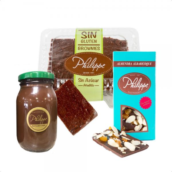 Kit Locos por el chocolate sin azúcar Philippe Panaderia y Pasteleria