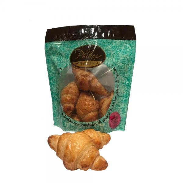 Minicroissant prehorneado x 6 sin azúcar sin azúcar Philippe Panaderia y Pasteleria saludable