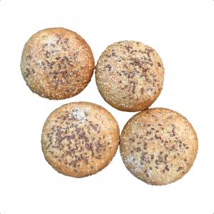 Mogolla integral - tipo hamburguesa x 4 - Philippe sin azucar Panaderia y Pasteleria.