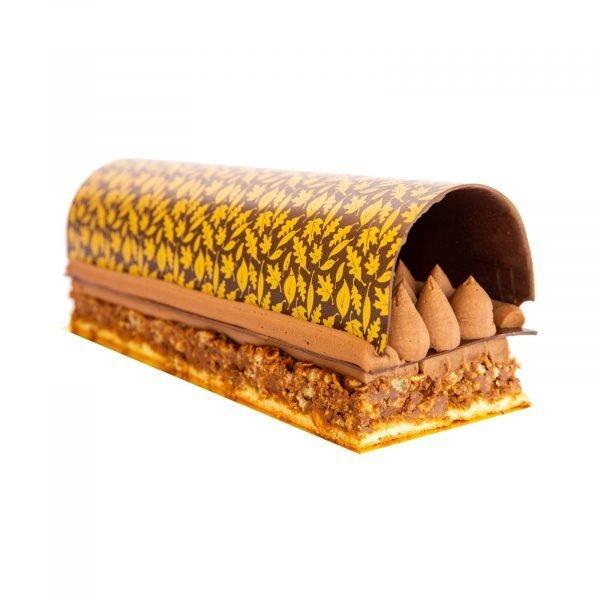 Buchee de Noel Dulzura de Chocolate Philippe Panaderia y Pasteleria saludable sin azúcar