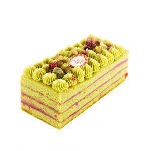 Cake-de-Noel-Financier-de-Pistacho-Philippe-Panaderia-y-Pasteleria-saludable-sin-azúcar